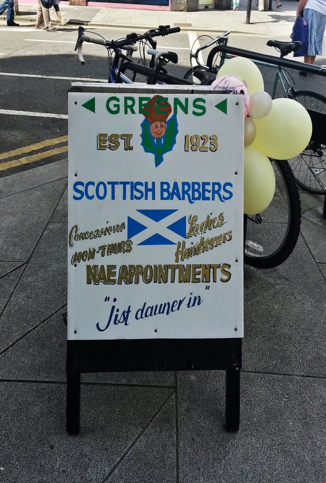 Greens Barbers,  Glasgow