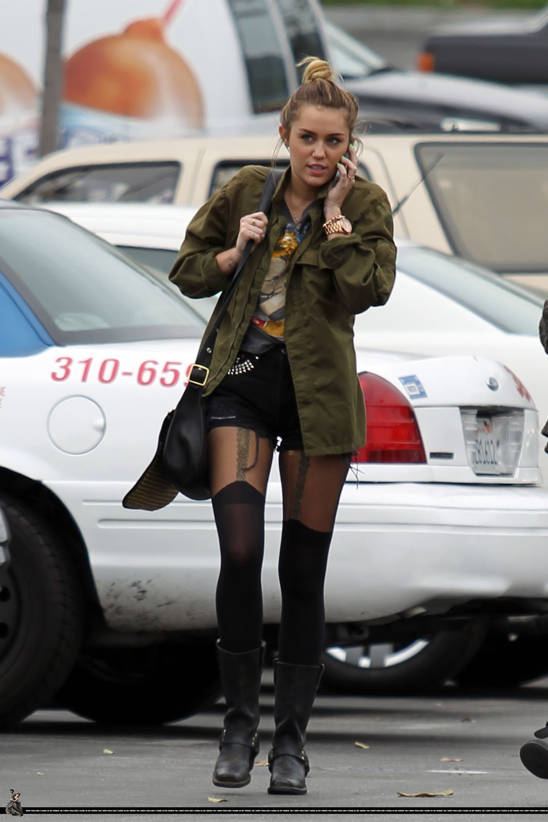 The Fashion Breakfast Miley Cyrus Street Style