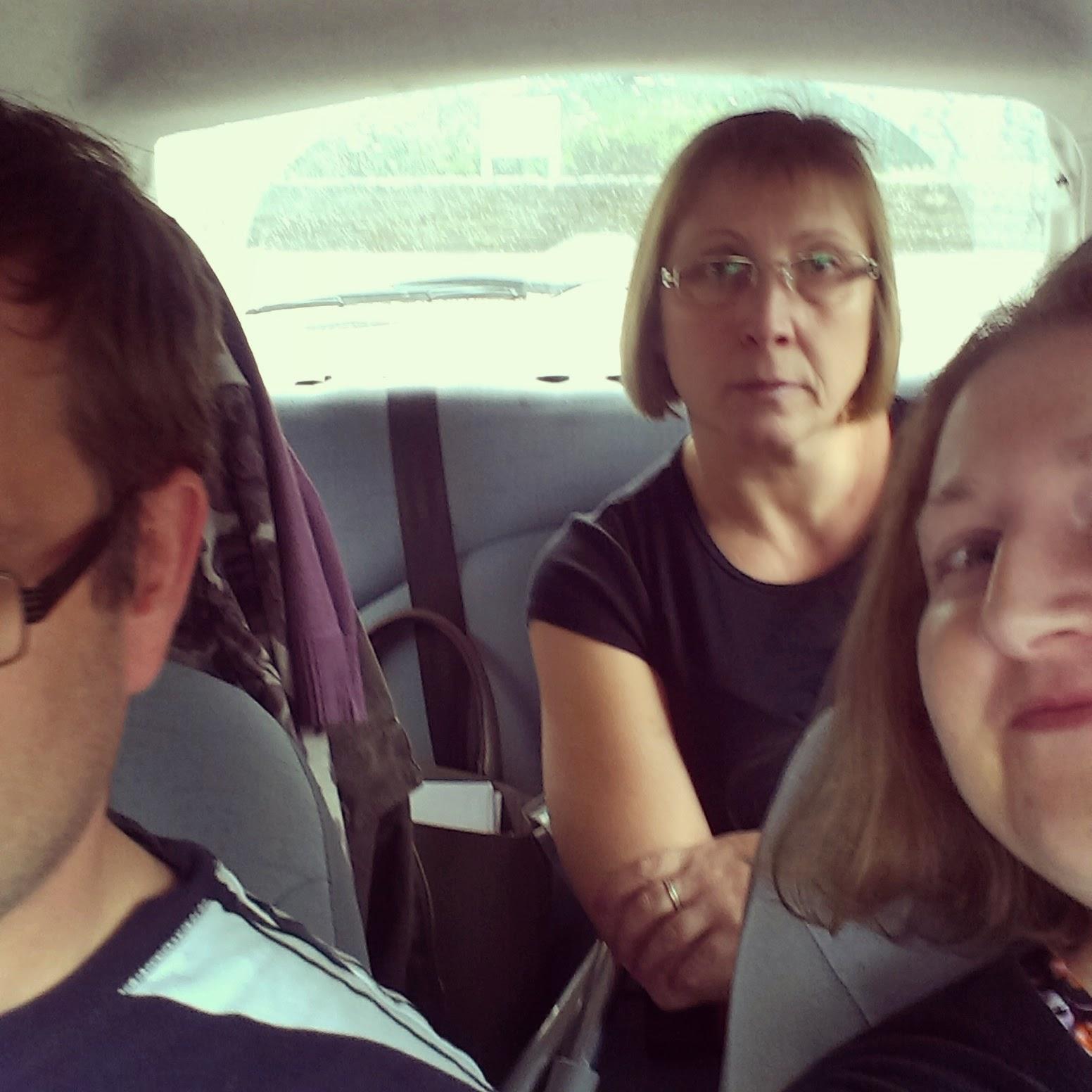 Road trip selfie