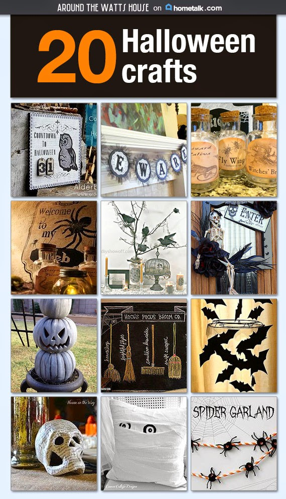 20 Hometalk Halloween Crafts