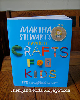 "Martha Stewart's ""Crafts For Kids"" Book"