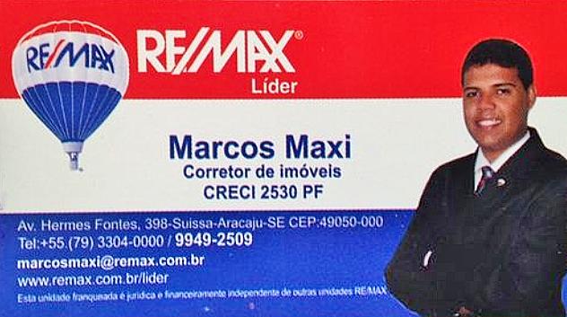 MARCOS MAXI - CORRETOR - ARACAJU / ROSÁRIO