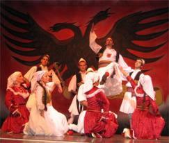 Musica e balli albanesi in Spagna.