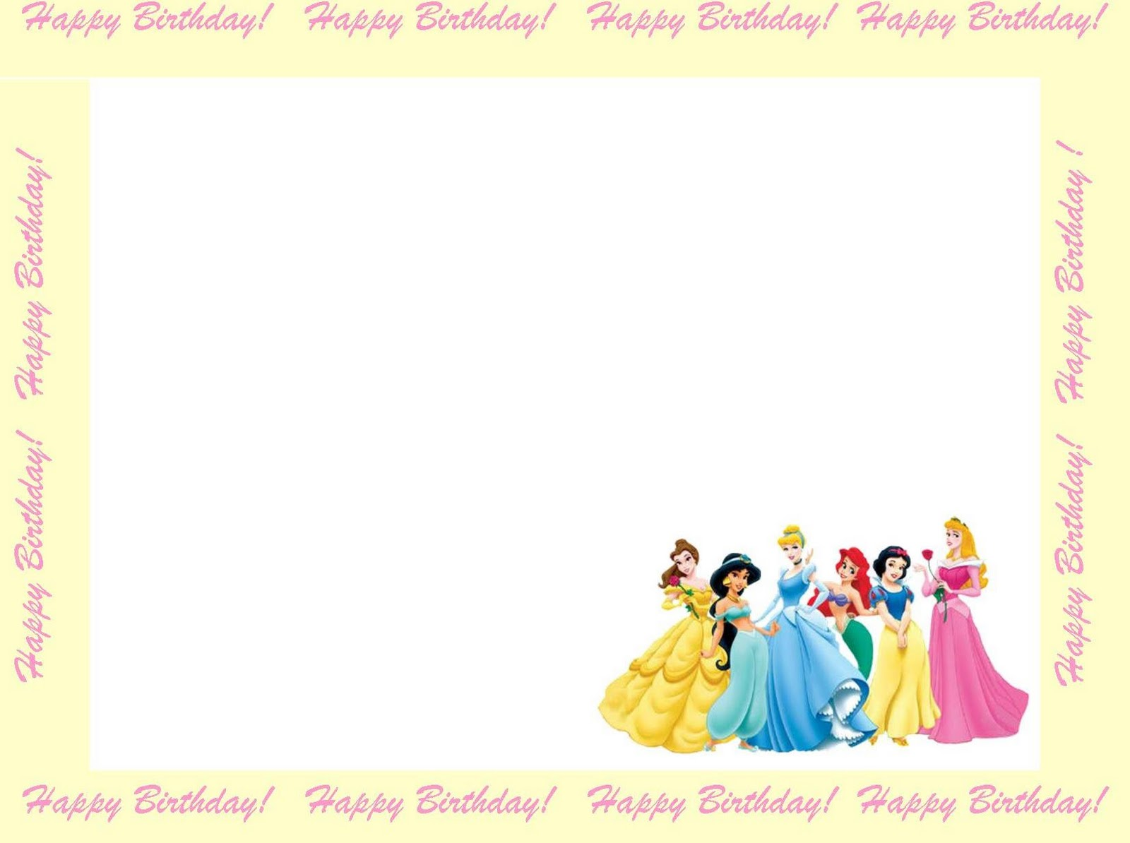 Free Fun Birthday Invitation Borders