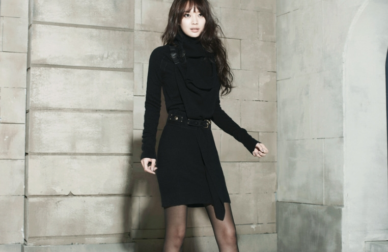 Chic And Blessed Stars Style Korean Actress Shin Min