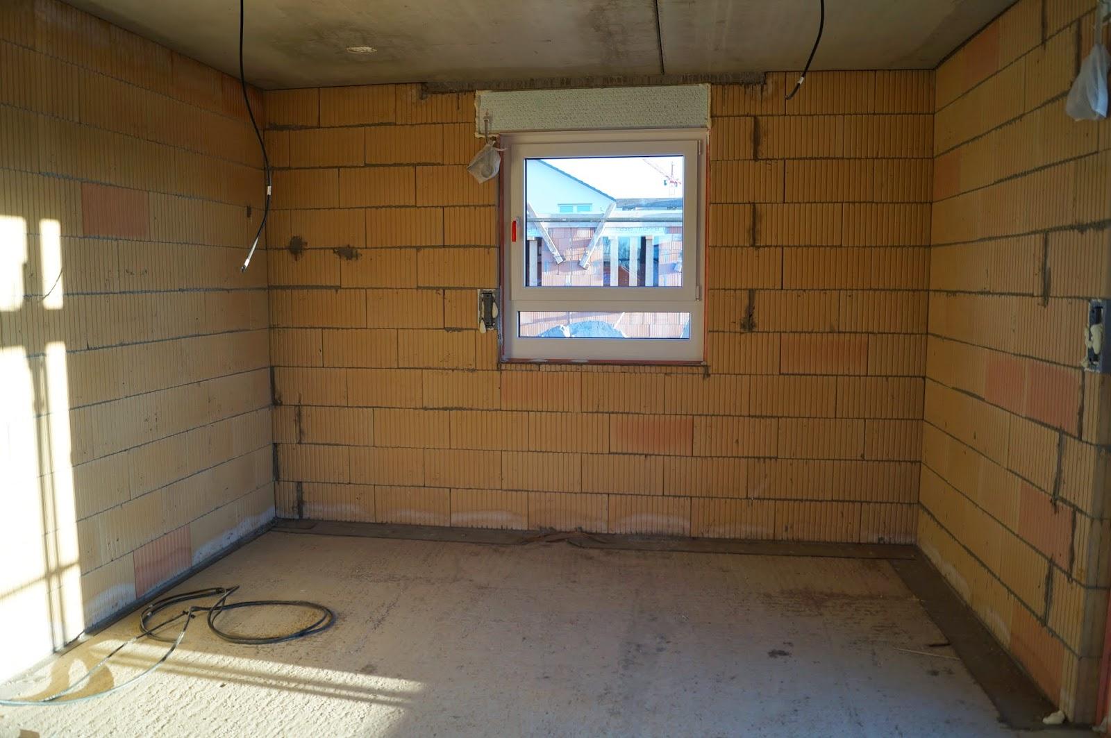 Abenteuer hausbau rohbau innen ohne trockenbau - Fenster ohne fensterbank ...