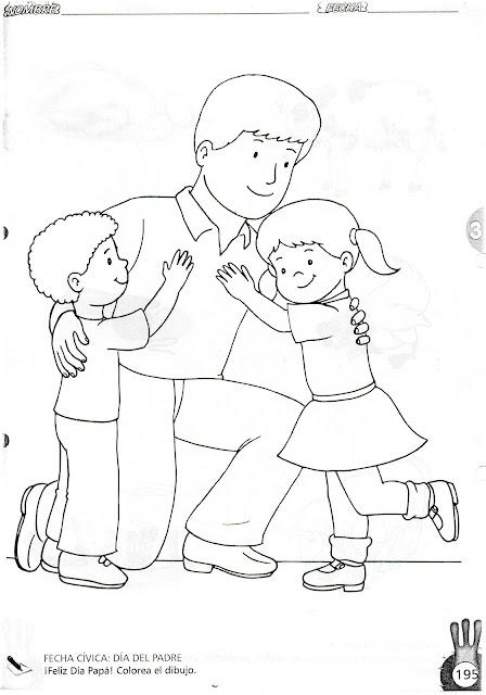 TE CUENTO UN CUENTO Diferentes tipos de familias para colorear