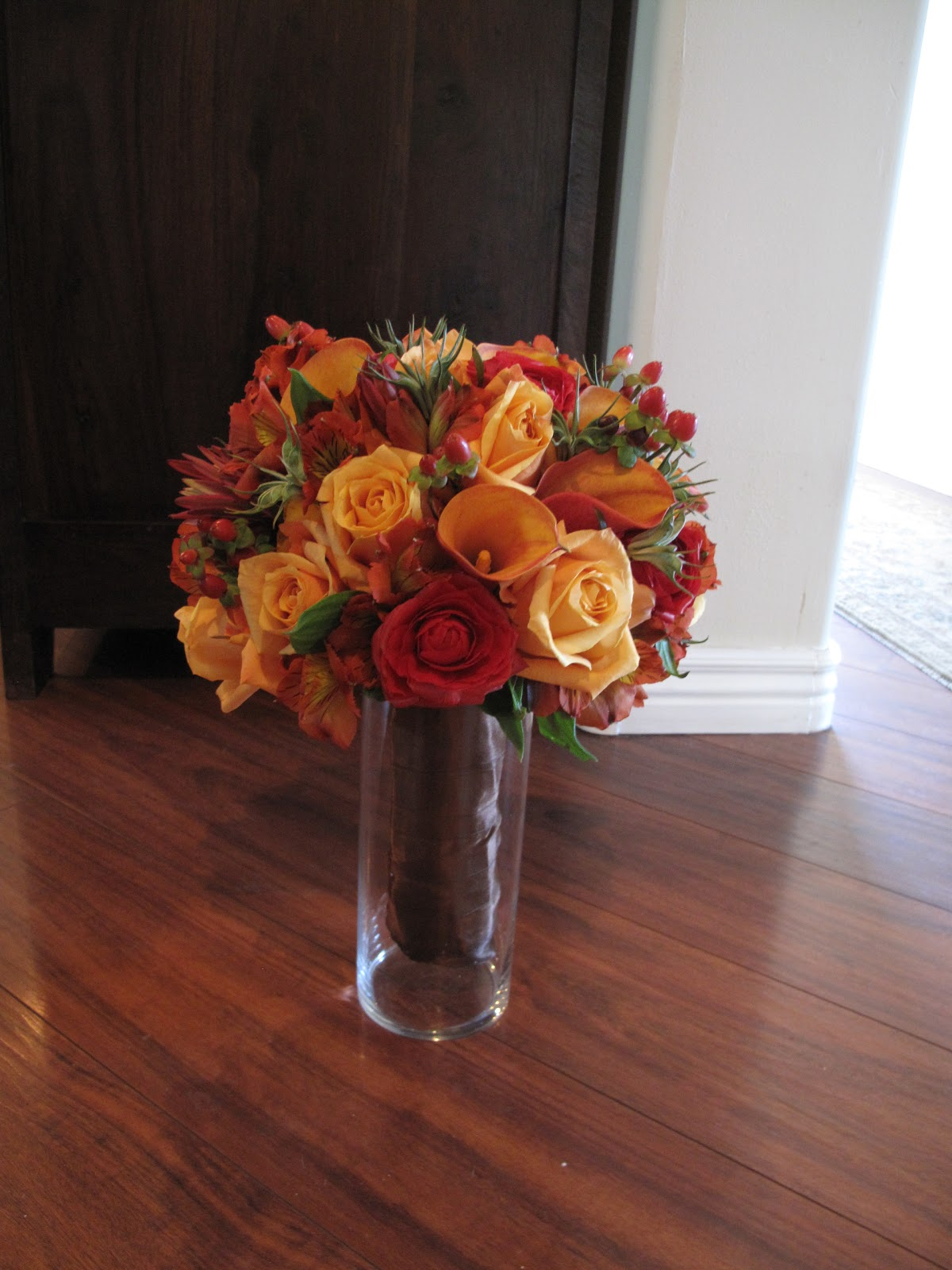 Le Fleur Boutique Fall Bridal Bouquet 9 24 11