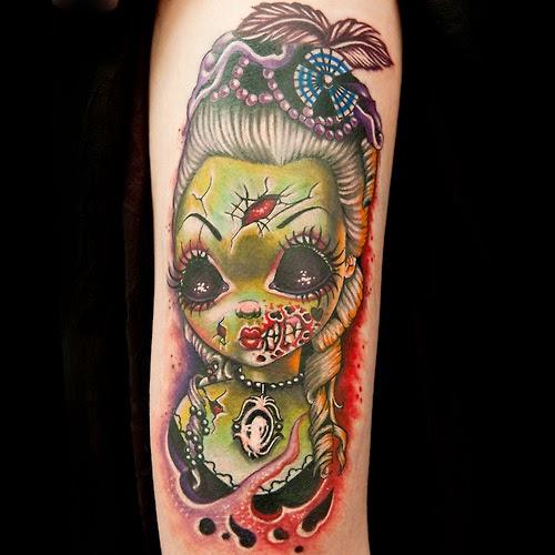 P.M. Dooling's Blog: HALLOWEEN Month - Cute Zombie Tattoos