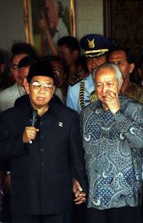 Gus Dur dan Soeharto