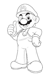 mario coloring pages, free coloring pages