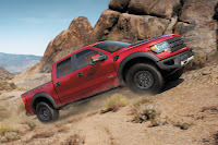 2014 Ford F-150 SVT Raptor mountain