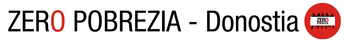 ZERO POBREZIA - Donostia
