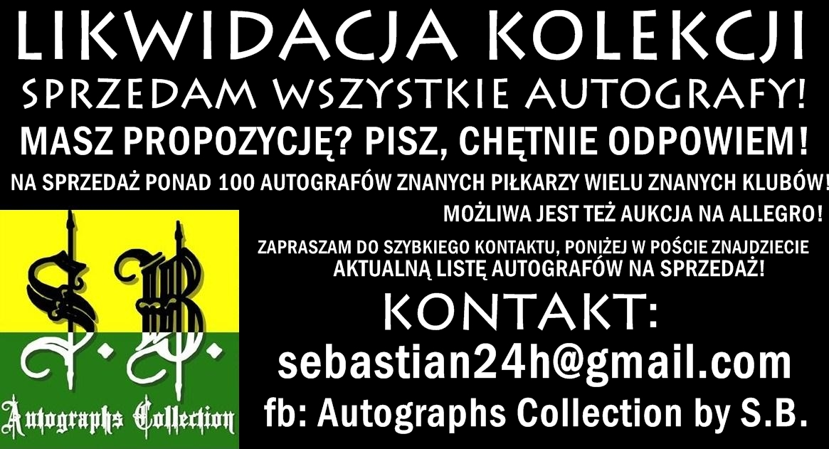 Autograph Colection by Sebastian