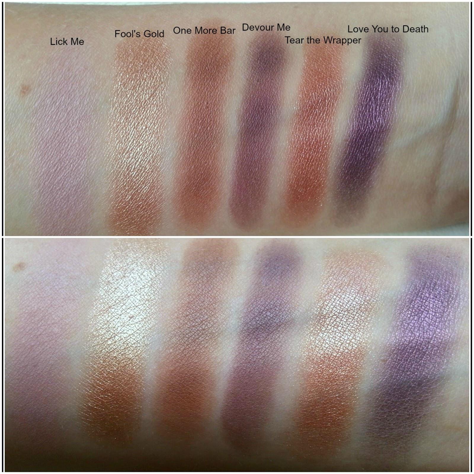 I u2661 Makeup u0026#39;Death by Chocolateu0026#39; Eyeshadow Palette : Mummy ...