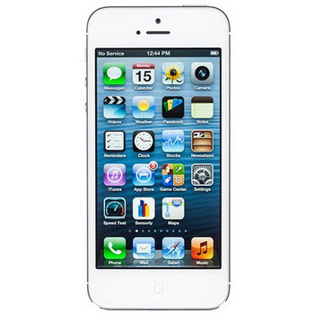 Apple iPhone 5 64GB Putih Smartphone [Resmi Indonesia]