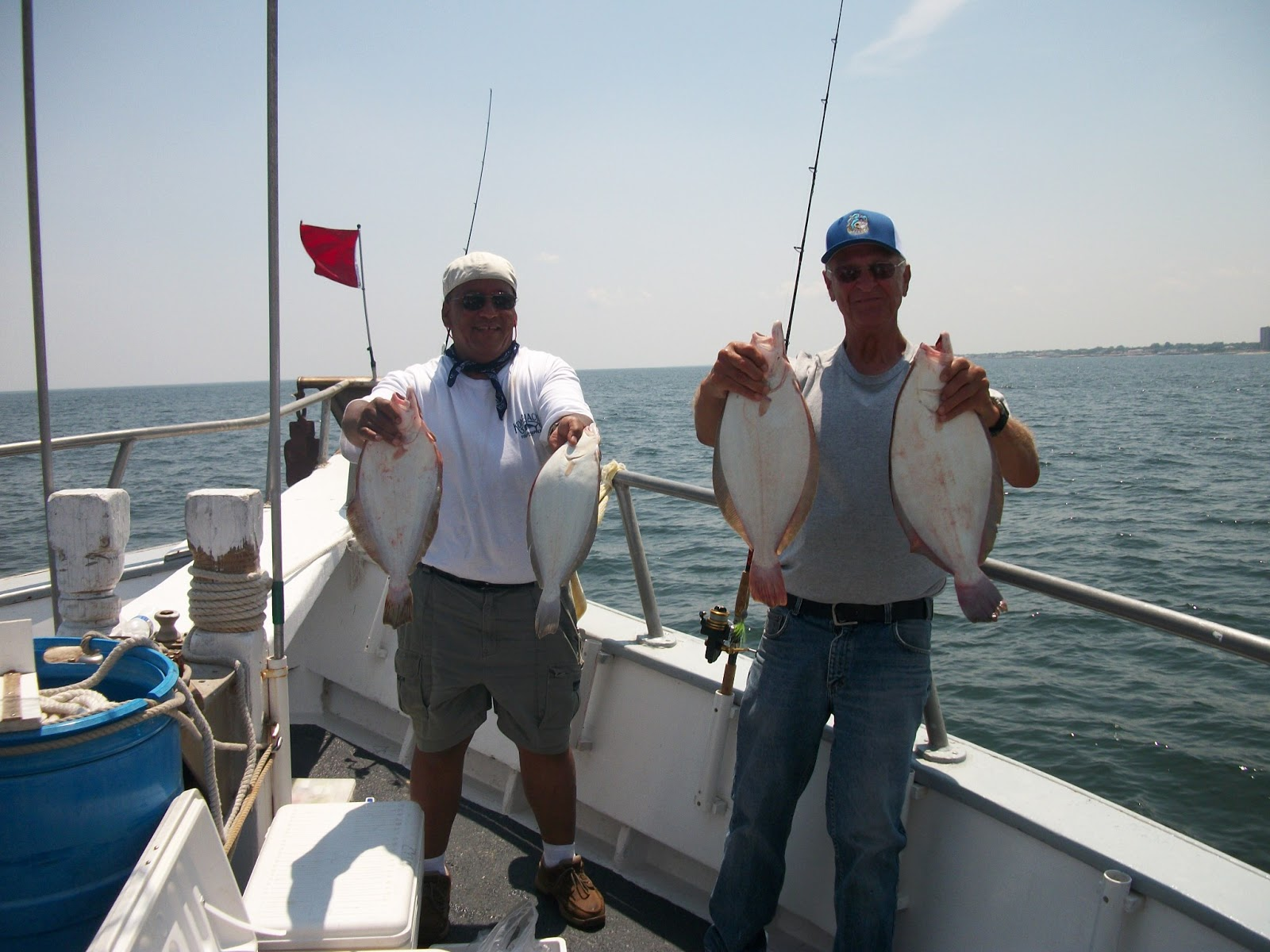 Capt cal belmar party boat fluke fishing report6 28 13 and for Capt cal fishing report