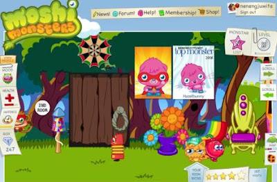 Cool Room Moshi monsters 2