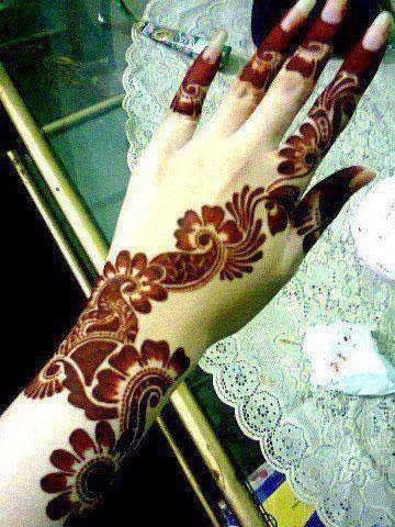 Beautiful Simple Mehndi Designs 201415  Pak Fashion