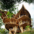 Di Bali Ada Rumah Unik Yang Terbuat Dari Bambu