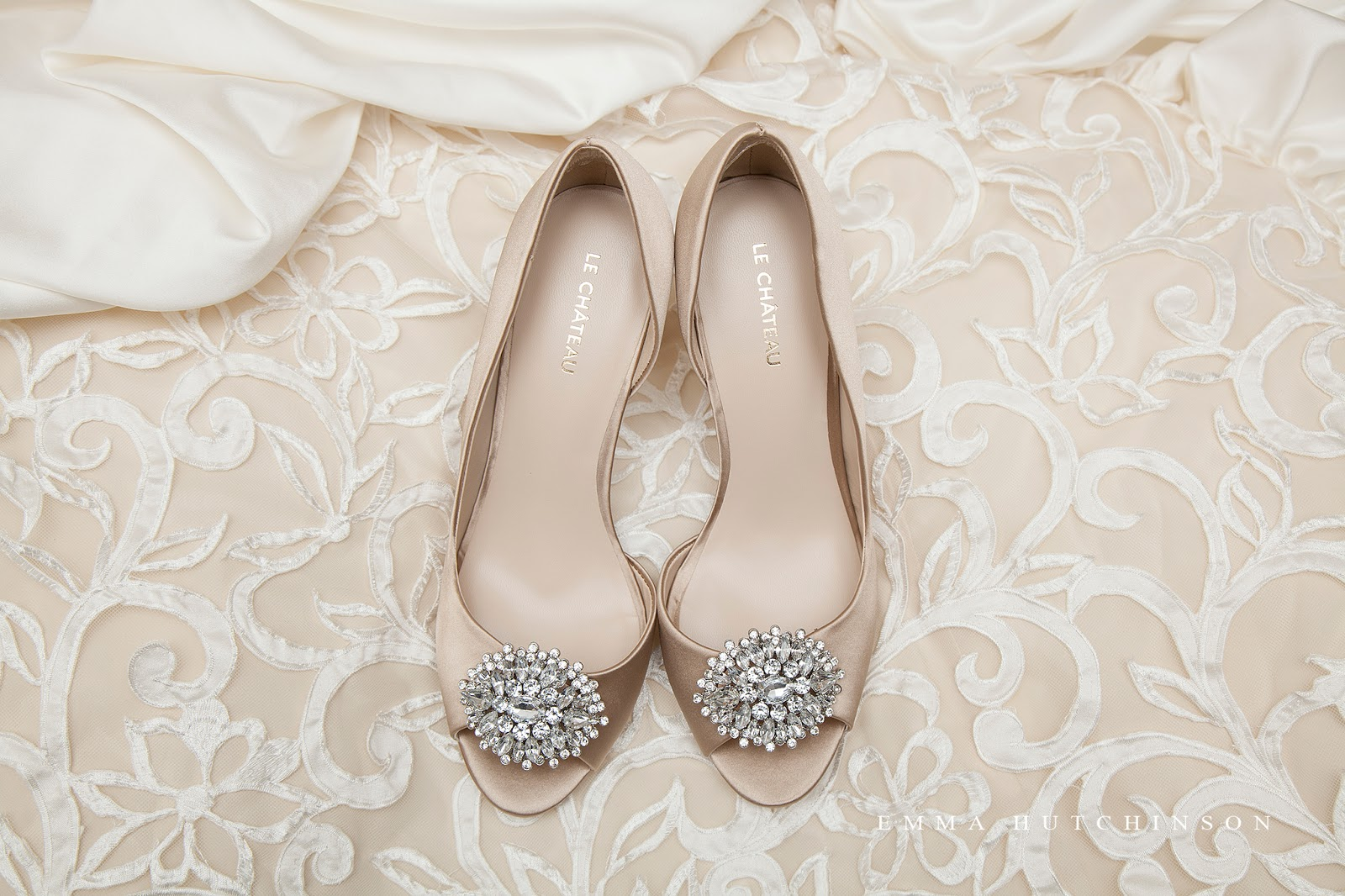Weddings in Tilting, Fogo Island - photograph of Bride's shoes