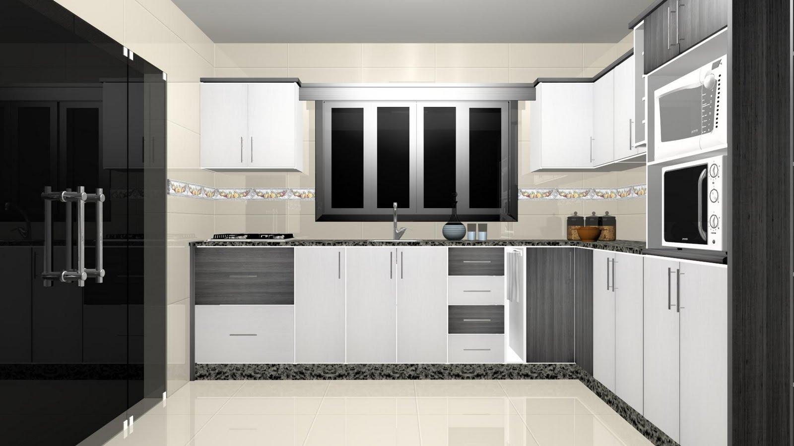 Espaço Nobre Design: Cozinha (Rafia Cinza Montego Blanc) #5B4E41 1600 900
