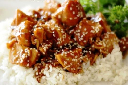 The Bestest Recipes Online: Crock-Pot Honey Sesame Chicken