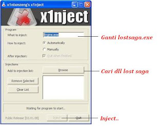 Cheat Lost Saga Skill No Delay + Perx Injector LS Terbaru