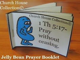 Jelly Bean Prayer Booklet Cutout