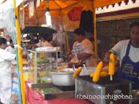 タイ VegetarianFestival2013 立ち並ぶ屋台