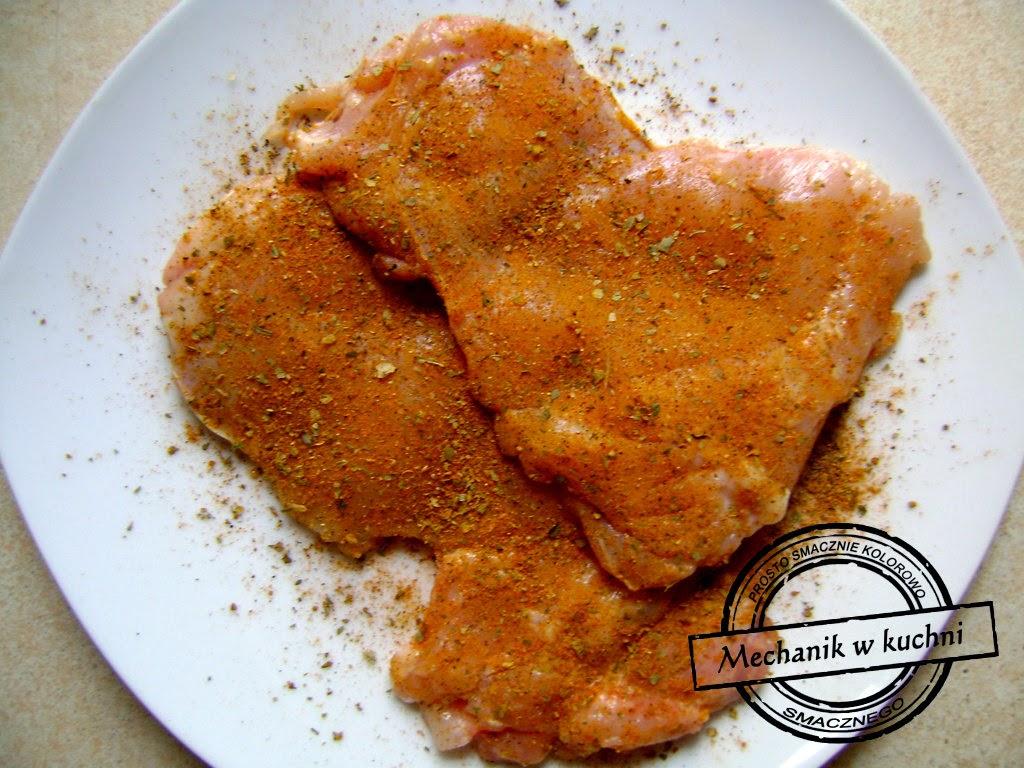 Drobiowe udka a'la Mechanik w kuchni przyprawa do mięsa drobiowego