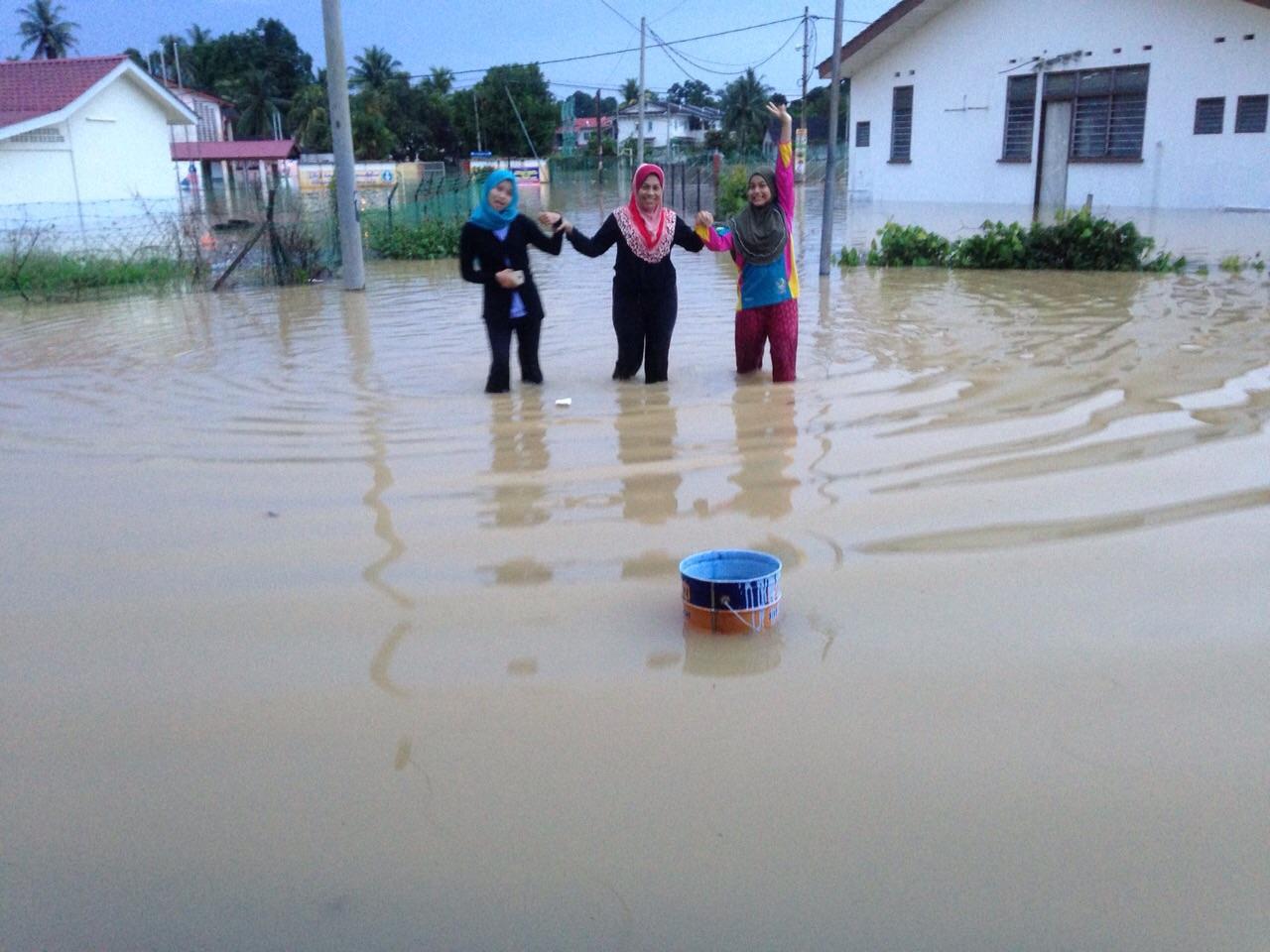 Banjir Besar di Kampung Gajah