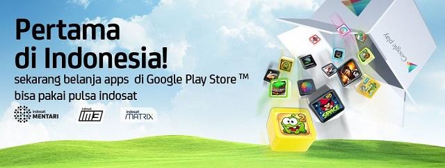 ... di Google Play Store Pakai Pulsa Indosat   Gadget dan Teknologi