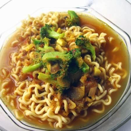 Resep Masakan Mie Kari Vegetarian Enak