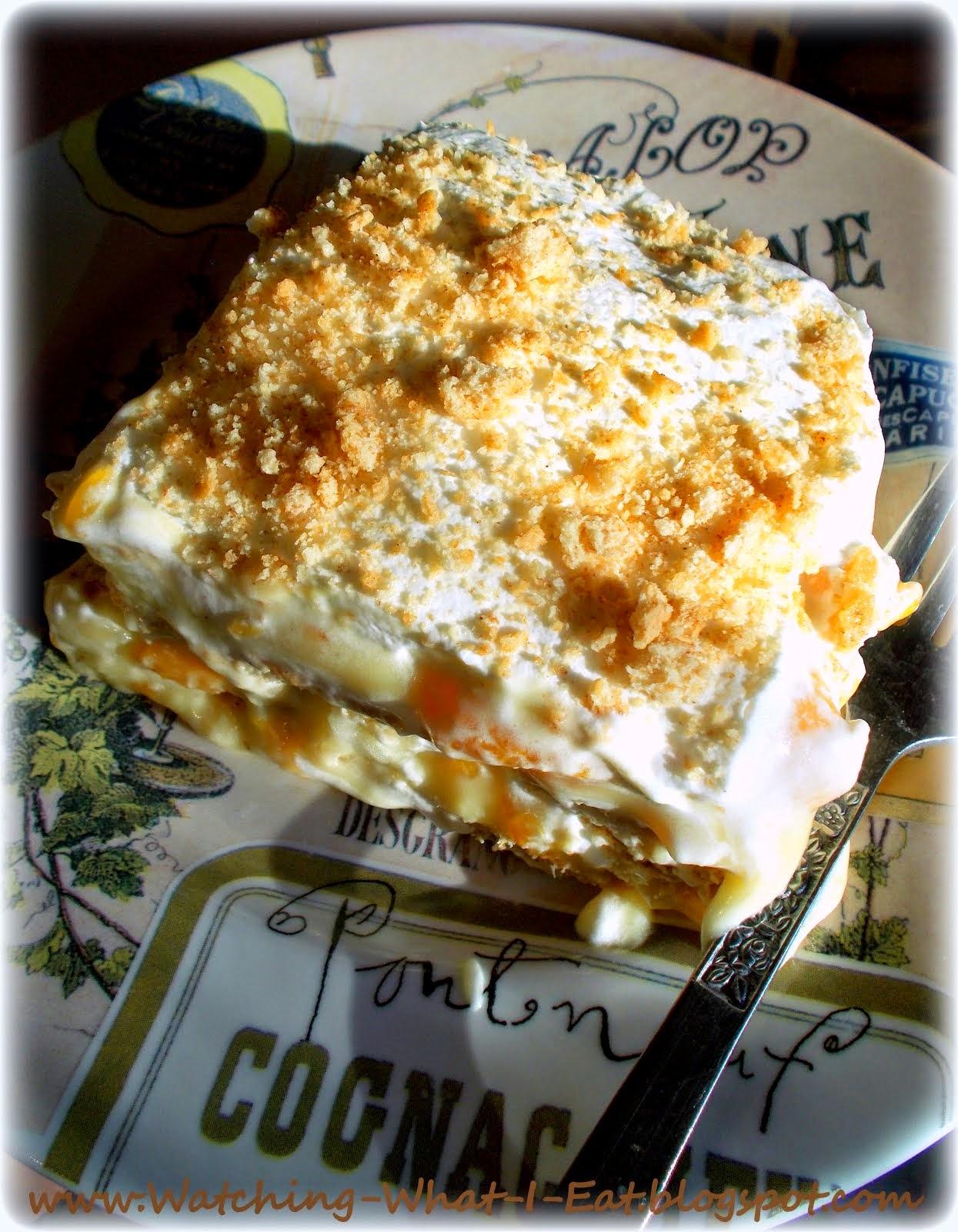 Easy Old-Fashioned Graham Cracker Icebox Cake