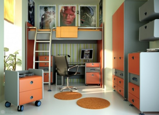 Aneka inspirasi Warna Cat Kamar Tidur Minimalis 2015 yang inspiratif