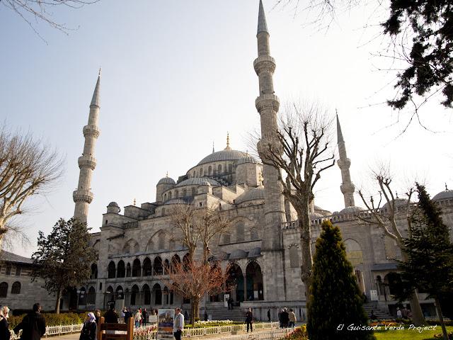 Mezquita Azul, Sultanahmed Camii - Estambul por El Guisante Verde Project