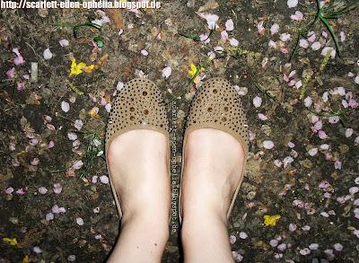 Glitzer Sommerschuhe, No Name Glitter Schoes, Ballerinas, H&M
