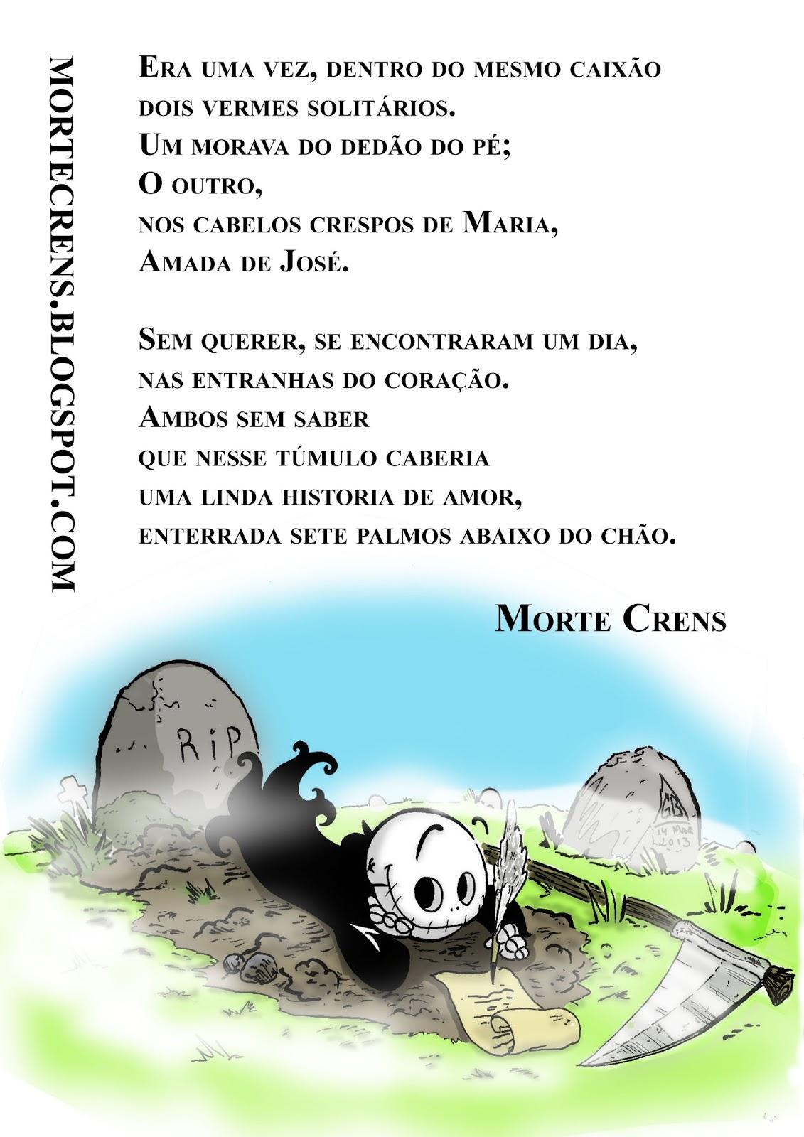 Poema Morte Crens A Entediante Vida De Morte Crens