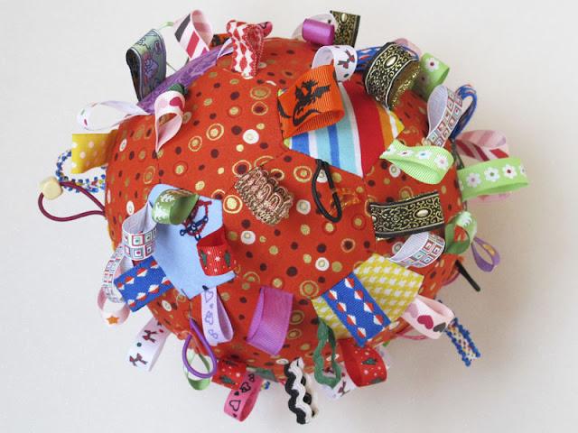 Развивающая игрушка своими руками резинки 15