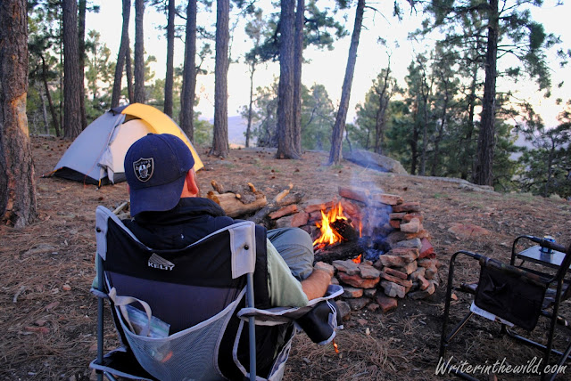 Mogollon Rim camp