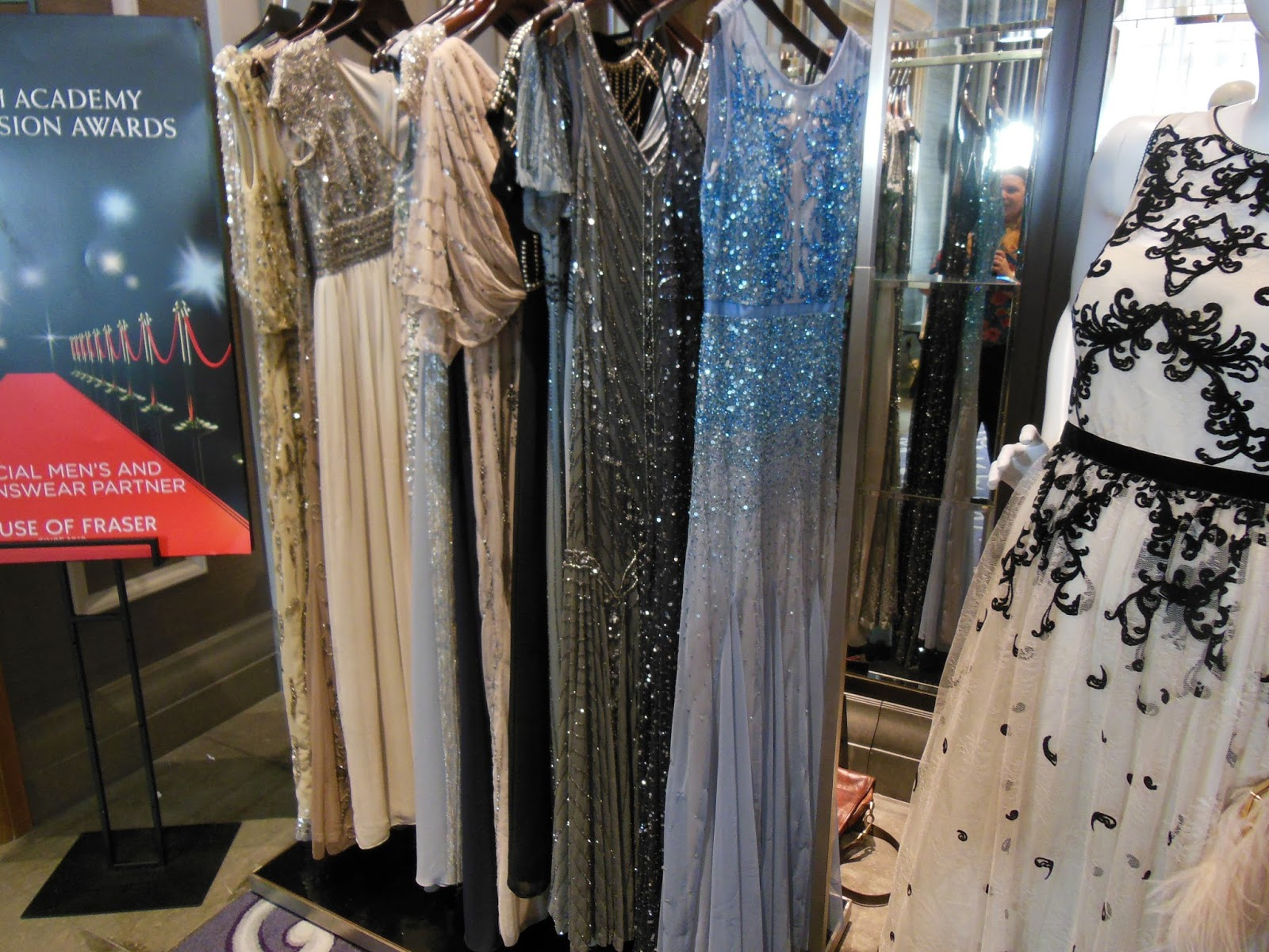 BAFTA dresses from House of Fraser