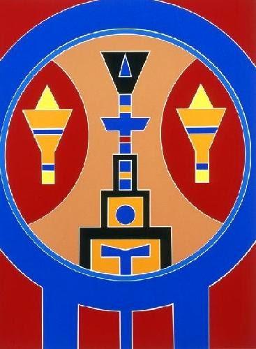 Excepcional Rubem Valentim - Um artista emblemático - Gravura Contemporânea HN11