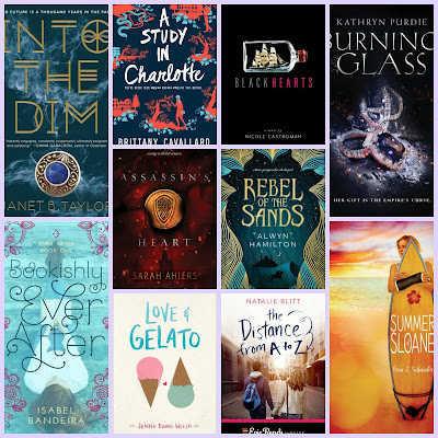 Top Ten Tuesday Ten 2016 Debut Novels I'm Looking Forward To