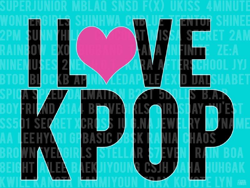 Asal Ngasal I Love K Pop