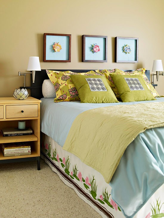 best ways to use blue in bedroom color of 2014