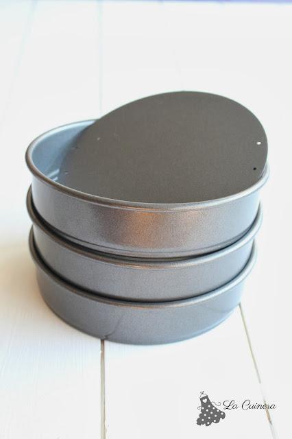 que moldes usar para hacer un layer cake o pastel a capas