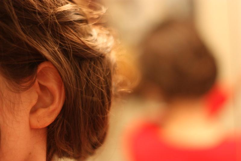 The SoHo Bridesmaid Hair Messy Side Bun