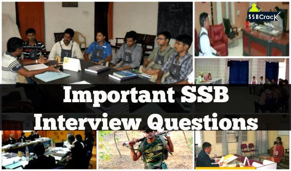 Important SSB Interview Questions Could Be Asked