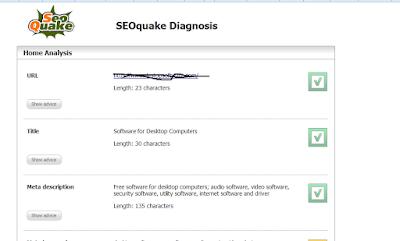 SEOquake untuk optimalisasi blog